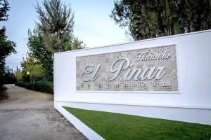 Entrada de la Hacienda El Pinar de Manabran